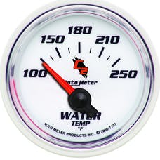 AutoMeter Products 7137 Water Temperature 100-250 F