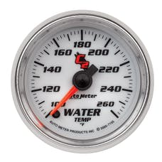 AutoMeter Products 7155 Water Temp 100-260 F
