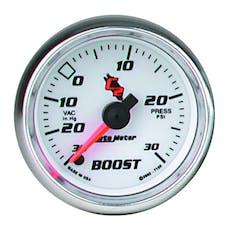 AutoMeter Products 7159 GAUGE; VAC/BOOST; 2 1/16in.; 30INHG-30PSI; DIGITAL STEPPER MOTOR; C2