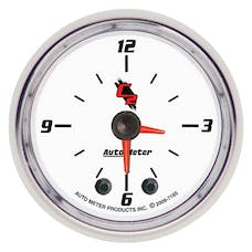 "AutoMeter Products 7185 2-1/16"" Clock, C2"