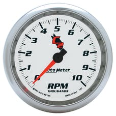AutoMeter Products 7297 In-Dash Tach  10 000 Rpm