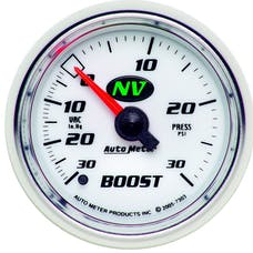 AutoMeter Products 7303 Boost/Vac  30 In. Hg//30 PSI
