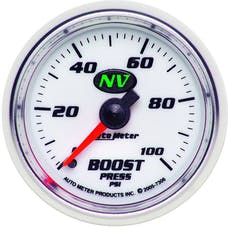 AutoMeter Products 7306 Boost 0-100 PSI