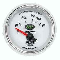 "AutoMeter Products 7318 Fuel Level Gauge 2 1/16"", 16E - 158F Electric NV"