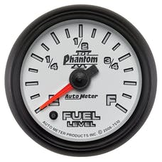 "AutoMeter Products 7510 2 1/16"" Programmable Fuel Gauge"