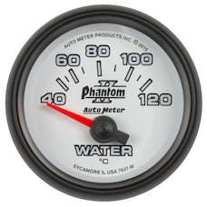 "AutoMeter Products 7537-M Water Temperature Gauge, 2 1/16"", 40-120Γö¼ΓòæC, Electric, Phantom II"