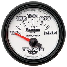 AutoMeter Products 7549 Gauge; Transmission Temp; 2 1/16in.; 100-250deg.F; Electric; Phantom II