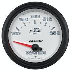 AutoMeter Products 7837 Gauge; Water Temp; 2 5/8in.; 100-250deg.F; Electric; Phantom II