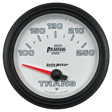 AutoMeter Products 7857 GAUGE; TRANSMISSION TEMP; 2 5/8in.; 100-250deg.F; ELECTRIC; PHANTOM II