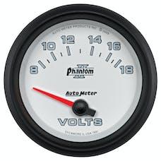 AutoMeter Products 7891 2-5/8in Voltmeter, 8-18V, SSE
