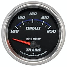 AutoMeter Products 7957 Gauge; Transmission Temp; 2 5/8in.; 100-250deg.F; Electric; Cobalt