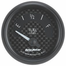 AutoMeter Products 8016 Gauge; Fuel Level; 2 1/16in.; 240OE to 33OF; Elec; GT