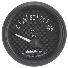 AutoMeter Products 8027 Gauge; Oil Press; 2 1/16in.; 100psi; Elec; GT