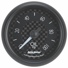 AutoMeter Products 8053 Gauge; Oil Press; 2 1/16in.; 100psi; Digital Stepper Motor; GT