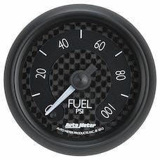 AutoMeter Products 8063 Gauge; Fuel Pressure; 2 1/16in.; 100psi; Digital Stepper Motor; GT