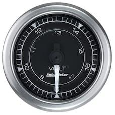 AutoMeter Products 8191 Chrono Gauge, Voltmeter, 18v, Digital Stepper Motor