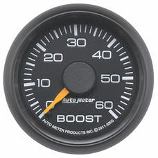 """AutoMeter Products 8305 2-1/16"""" Boost, 0-60 PSI, GM Factory Match"""