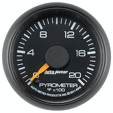 AutoMeter Products 8345 Gauge; Pyrometer (EGT); 2 1/16in.; 2000deg.F; Stepper Motor; GM Factory Match