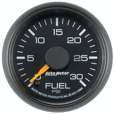 AutoMeter Products 8360 Gauge; Fuel Pressure; 2 1/16in.; 30psi; Digital Stepper Motor; GM Factory Match
