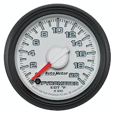 "AutoMeter Products 8545 2-1/16"" Factory Match Pyrometer 0-2000"