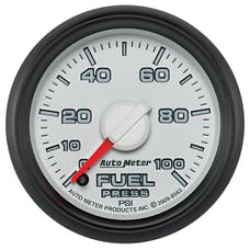 "AutoMeter Products 8563 2-1/16"" Factory Match Fuel Pressure 0-100, FSE"