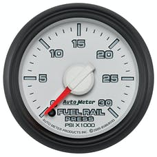 "AutoMeter Products 8586 2-1/16"" Fuel Rail Pressure Gauge  0 to 30,000 psi"