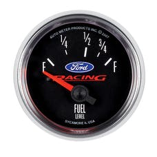 "AutoMeter Products 880075 Gauge 2-1/16"" Fuel Level, 73E/ 10 F, SSE, Ford Logo"
