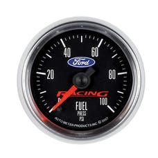 """AutoMeter Products 880080 2-1/16"""" Fuel Pressure, 0- 100 PSI, FSE, Ford"""