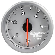AutoMeter Products 9198-UL 2in. TACH; 5k RPM; AIRDRIVE; SLVR