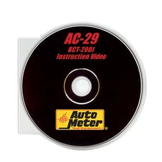 AutoMeter Products AC-29 BCT-200J Intellicheck II Training DVD