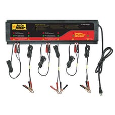 AutoMeter Products BUSPRO-662 BusPro AGM Optimized Multi Battery Charging Station