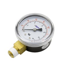 AutoMeter Products GLP Lo Pressure Gauge for CO2 REGULATOR (0 TO 160 PSI)
