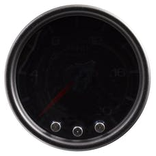 AutoMeter Products P31052 Gauge; Pyro. (EGT); 2 1/16in.; 2000deg.F; Stepper Motor w/Peak/Warn; Blk/Smoke/B