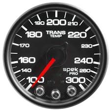 "AutoMeter Products P34232 Trans Temperature Gauge 2 1/16"", 300Γö¼ΓòæF, Stepper Motor Black"
