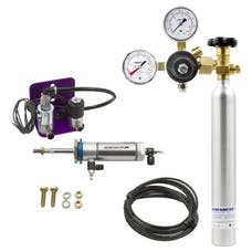 AutoMeter Products TS5RDK CO2 Retrofit Kit for TS2 & TS5, Includes AB10K Bottle Kit Double Acting