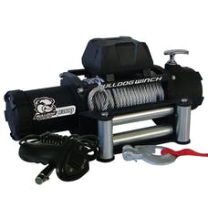 Bulldog Winch 10041 8000lb Winch with 5.2hp Series Wound Motor, Roller Fairlead
