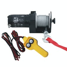 Bulldog Winch 15008 2000lb Utility Winch, 50ft wire rope, hand held controller