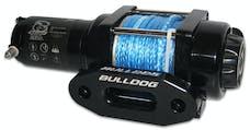 Bulldog Winch 15014 2500lb ATV Winch w/syn rope, Alu Hse Frld, mini-rocker switch, mnt channel