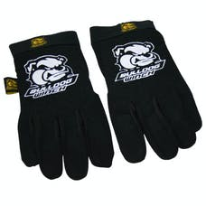 Bulldog Winch 20070 Trail Gloves, XL, Black Form Fit w/synthetic leather palm