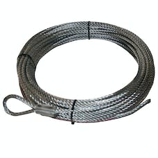 "Bulldog Winch 20109 Wire Rope, 10002 21/64"" x 100' (8.3mm x 30.5m)"