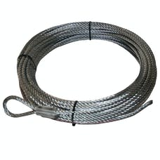 "Bulldog Winch 20110 Wire Rope, 10003 3/8"" x 90' (9.5mm x 27.4m)"