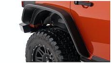 Bushwacker 10050-07 Flat Style Jeep Fender Flares, 2pc