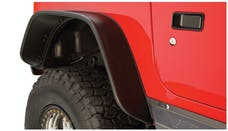 Bushwacker 10056-07 Flat Style Jeep Fender Flares, 2pc