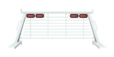 B&W Towing PUCP7502WA Cab Protector, White