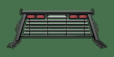 B&W Towing PUCP7541BA Cab Protector, Black