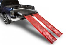"""Cargo Ease CE7548CCR 1800Lb Capacity,75% Extension, 8 Bearings, 4 Tiedowns, 4"""" Rails, PE Plywood Deck"""