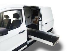 "Cargo Ease CE9447D1 1000 Lb Capacity,75% Extension, 16 Bearings, 4 Tiedown, 4"" Rails, Composite Deck"