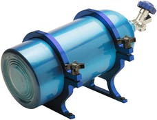 CVR Performance NO67BL Quick Change 10 lb. Billet Bottle Holder – Blue