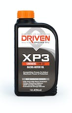 Driven Racing Oil 00306 XP3 10W-30 Synthetic Racing Oil - 1 Quart Bottle