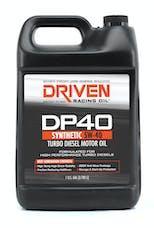 Driven Racing Oil 02508 DP40 5W-40 Turbo Diesel Motor Oil (1 gal. jug)